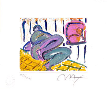 Abstract Reclining Figure